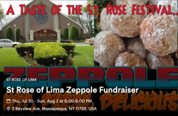 Order Our World Famous Zeppole Here
