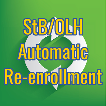 Automatic Re-enrollment