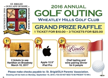 Golf Outing Raffles