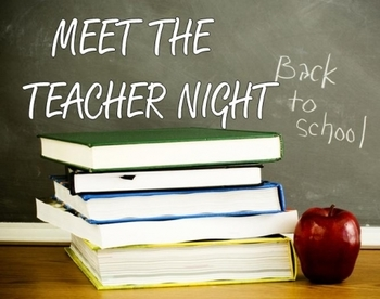 Meet the Teacher Night Grades 6 through 8