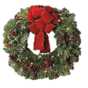 We are selling Christmas Wreaths and Cemetery Blankets and Crosses
