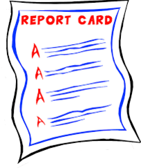 Report Cards Distributed Today