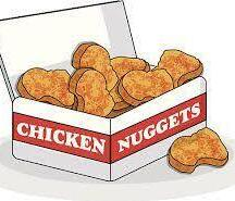 Lunch: Wendy's Chicken Nuggets - 6 nuggets for $3.00
