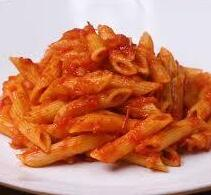 Hot Lunch: Pasta with tomato sauce from Gino's - $3.00 per serving