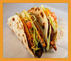 Hot Lunch: 1 Beef Taco from Taco King for $3.00 or 2 Beef Tacos for $5.00