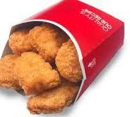 Hot Lunch: 6 Chicken Nuggets from Wendy's - $3.00