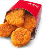 Lunch: Chicken Nuggets from Wendy's - $3.00