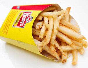 Lunch: Cheeseburger & Fries from Wendy's - $4.00