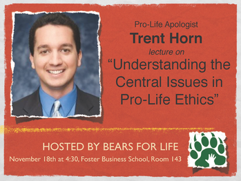 Trent Horn Speaking at Baylor