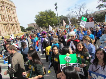 Pro-Life Mass, March, and Rally in Austin