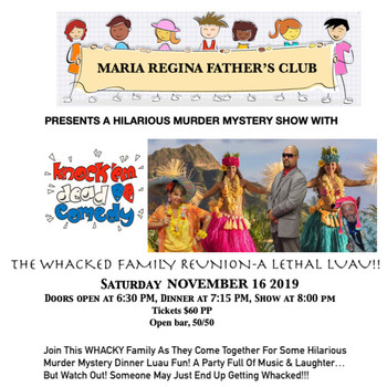 Father's Club Murder Mystery Night