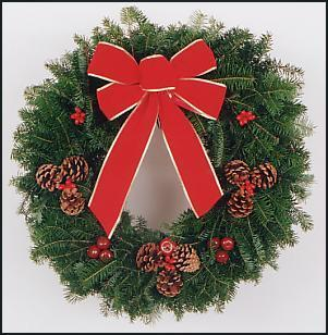 Christmas Wreath and Roping Sale