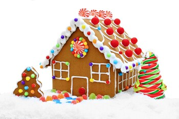 Virtual Gingerbread House Decorating