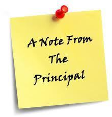 A Word from Our Principal