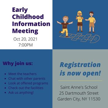 Early Childhood Information Meeting