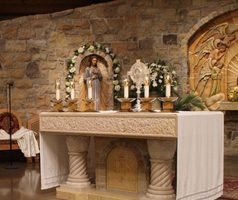 Adoration of the  <br /> Blessed Sacrament