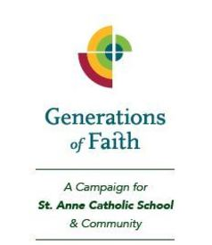 GENERATIONS OF FAITH  <br />CAPITAL CAMPAIGN
