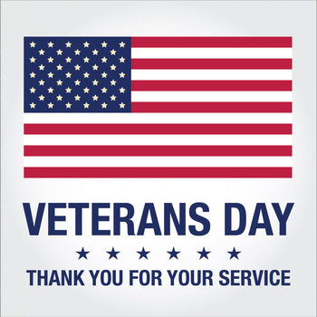 Veterans' Day - SCHOOL CLOSED