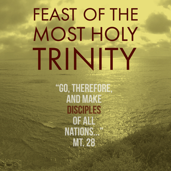 Happy Feast Day of the Holy Trinity