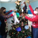 """6th Grade Decorates with Tinsel to Bring the """"Legend of the Christmas Spider"""" to Life!"""