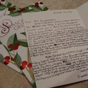 7th Grade Writes HNOM Faculty Holiday Cards to Share their Victorian Christmas Research!
