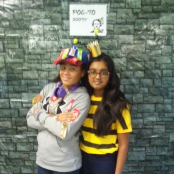 8th Graders Impress with their D.I.Y. Pun Costumes for Halloween!