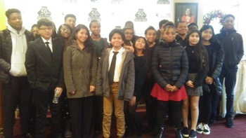 8th Grade Attends Theatre Three's A CHRISTMAS CAROL