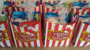 5 PEOPLE IN HEAVEN: 8th Grade Receives Text-Based Snacks for a Home Movie Party!
