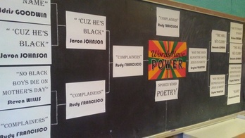 8th Grade Analyzes Spoken-Word Poetry for Black History Month!
