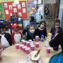 "Holy Family's Pre-K Celebrates 50 days with ""Fifty's Fun""!"