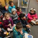 Mrs. Buckley's Pre-K Visits the HF Food Pantry