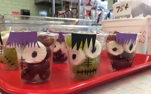 Halloween Treats in the Cafe