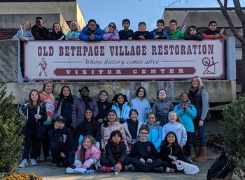 4th Grade Visits Old Bethpage Restoration Village