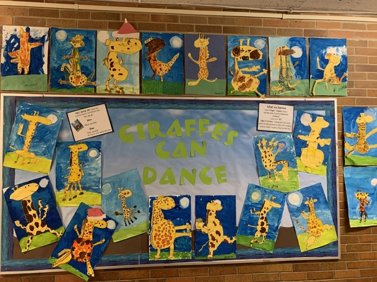 Based on the book, Giraffes Can't Dance!
