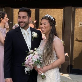 Miss Errico gets Married!
