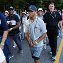 Pilgrims walk 'Way' of saint as part of Year of Spiritual Awakening