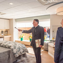Special delivery: Bishop blesses new Mary V. O'Shea Birth Center