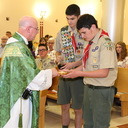 Scouts honored at annual Mass