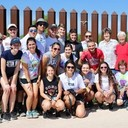 Young adults volunteer to assist migrants