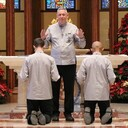 Faith journey of newly professed brother fostered at Catholic Center