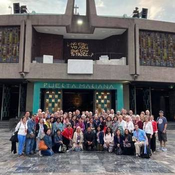 Diocesan pilgrimage to Guadalupe led by Bishop Checchio
