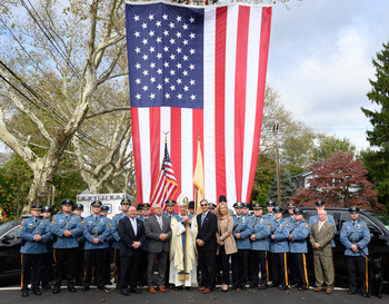 Bishop blesses, inspires law enforcement at annual liturgy