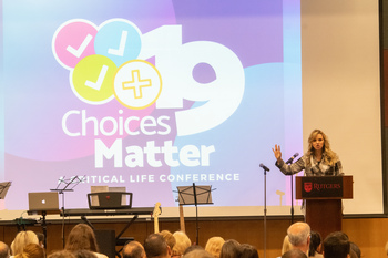 Speakers discuss importance of Christ in decision-making