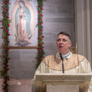 Diocese of Metuchen consecrated to Jesus through Mary at Mass at Cathedral of St. Francis of Assisi