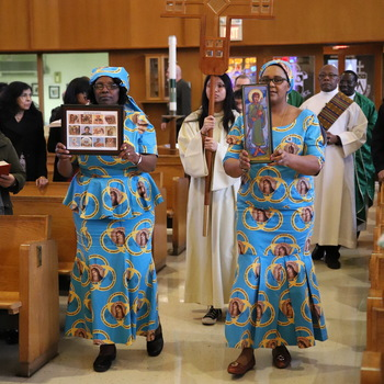Black History Month Mass energizes congregation