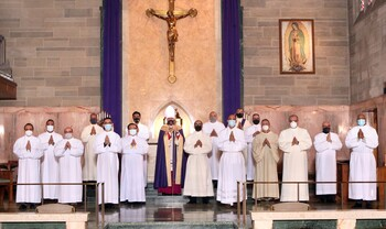 Spanish-speaking diaconate class takes major step in formation