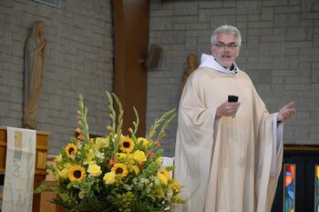 Faithful in diocese return to Mass: 'We are all instruments of God'