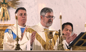 Father Michael Fragoso 'humbled, grateful' for honor to serve parishioners