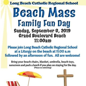 Beach Mass - September 8th
