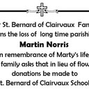 In Memory of Marty Norris